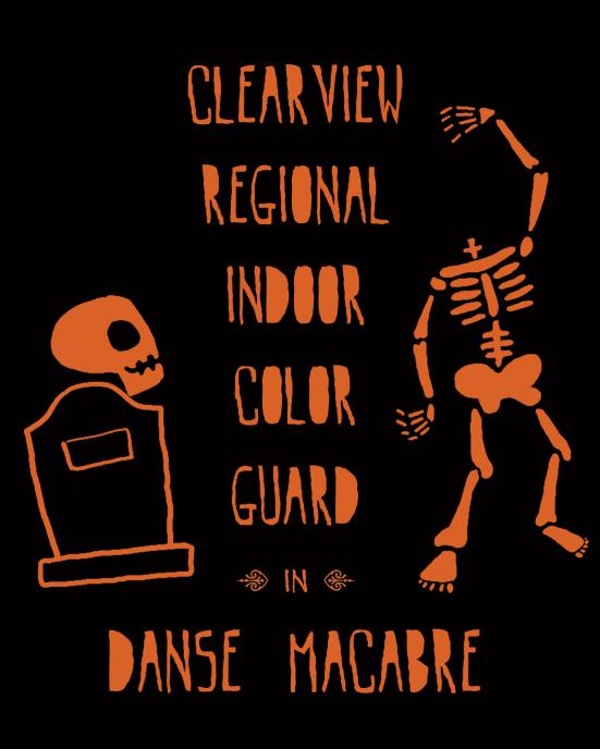 Danse Macabre T-Shirt Design Erika Schnatz