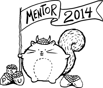 PSU Mentor Squirrel T-Shirt Design Erika Schnatz
