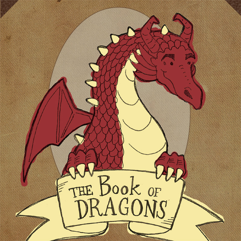 Erika Schnatz - Book of Dragons Header