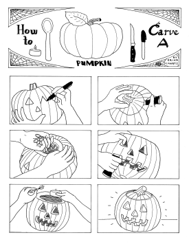 Erika Schnatz - How to Carve a Pumpkin (2018)