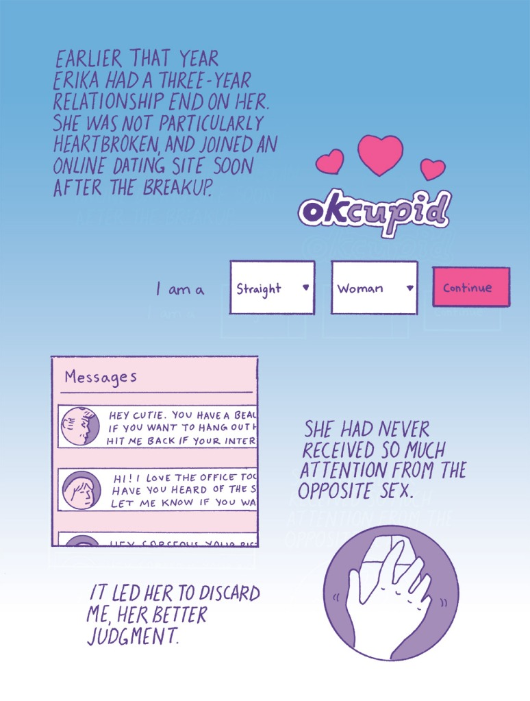 """Not Okay, Cupid"" Page 2 Erika Schnatz"