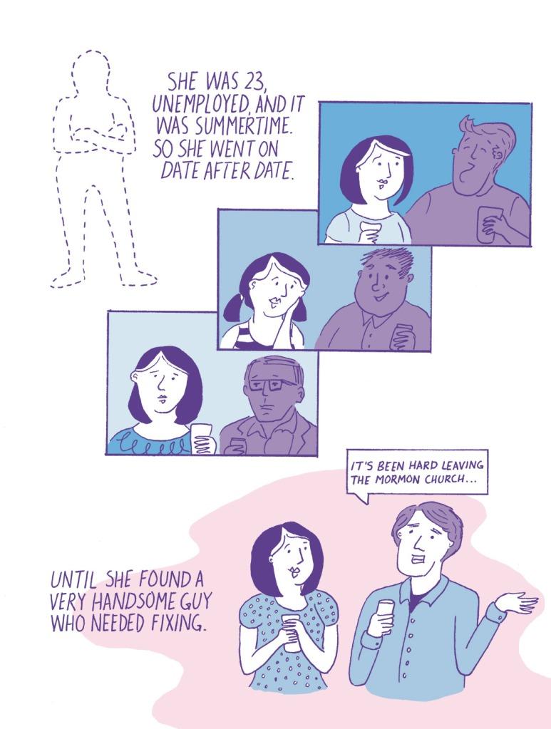 """Not Okay, Cupid"" Page 3 Erika Schnatz"