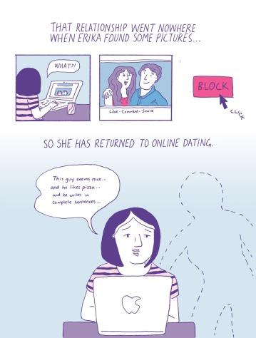 """Not Okay, Cupid"" Page 4 Erika Schnatz"