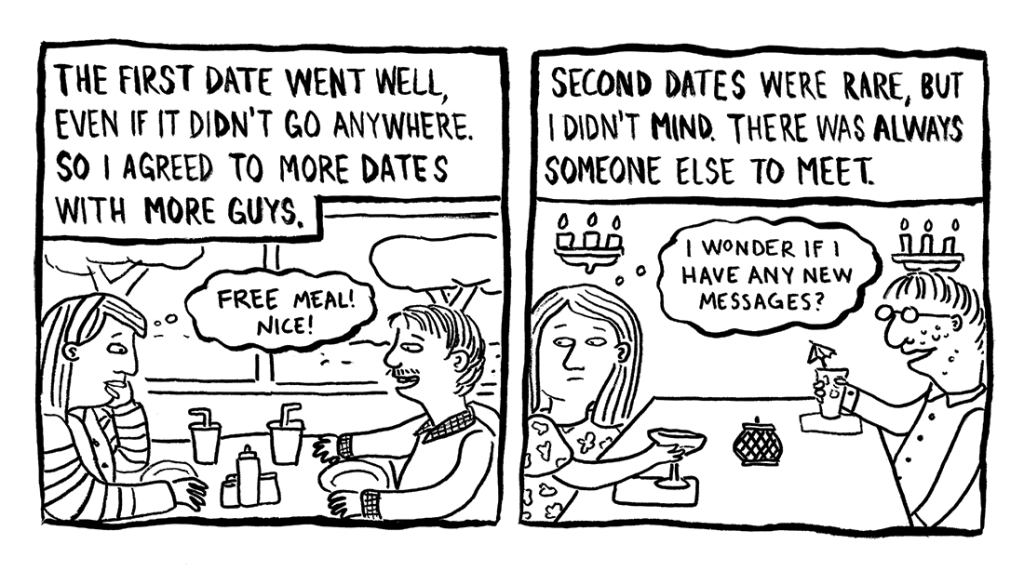 Today's Demon: Online Dating Page 3 Erika Schnatz