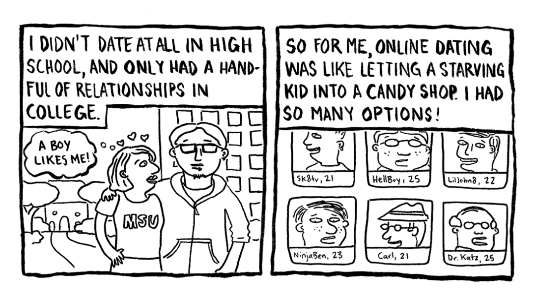 Today's Demon: Online Dating Page 4 Erika Schnatz