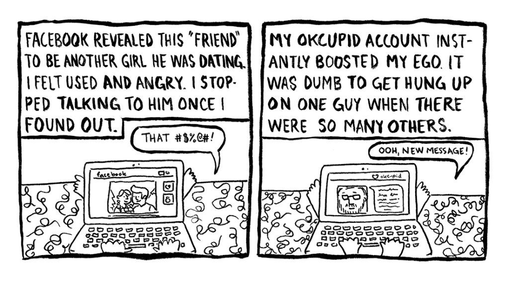Today's Demon: Online Dating Page 6 Erika Schnatz