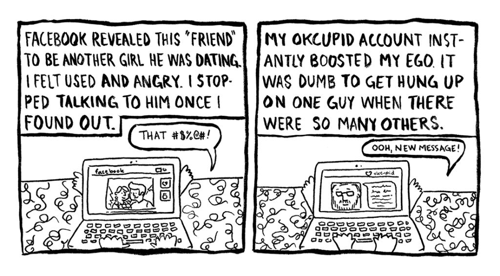 Today's Demon: Online Dating Page 6 Erika Schnatz
