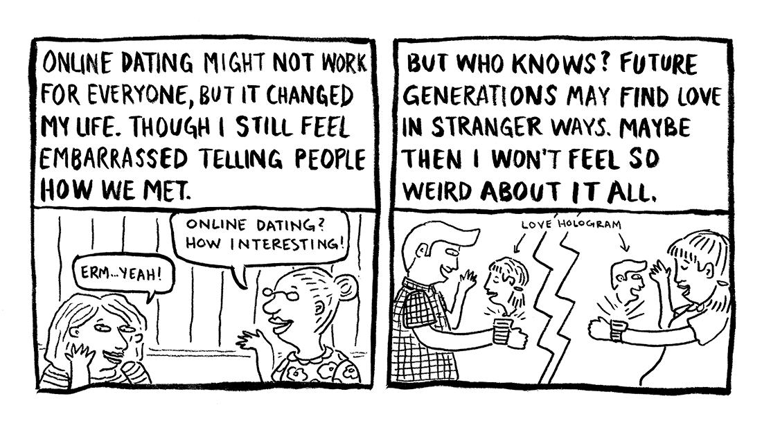 Today's Demon: Online Dating Page 9 Erika Schnatz