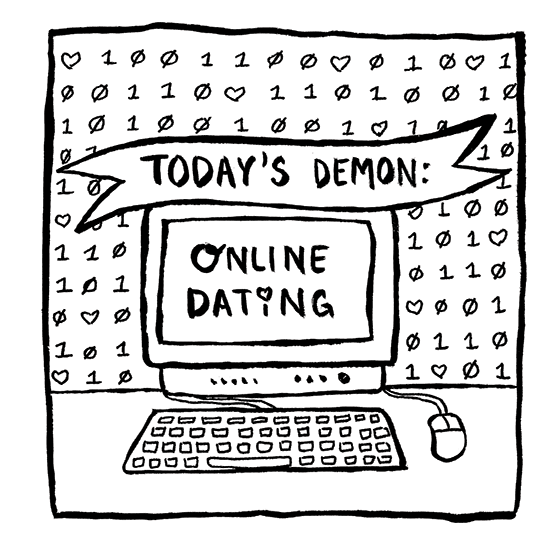 Today's Demon: Online Dating Erika Schnatz