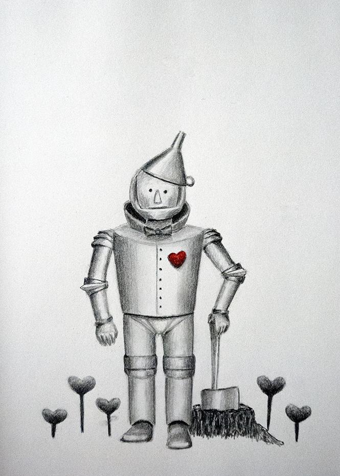 Heart for Illustration Friday Erika Schnatz