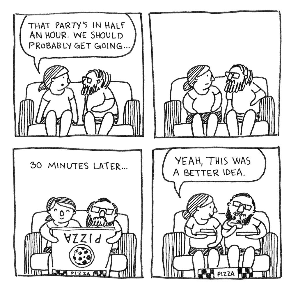 Wedding Comic 1 Erika Schnatz