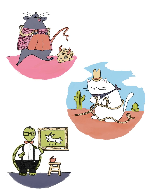 Erika Schnatz Animal Doodles
