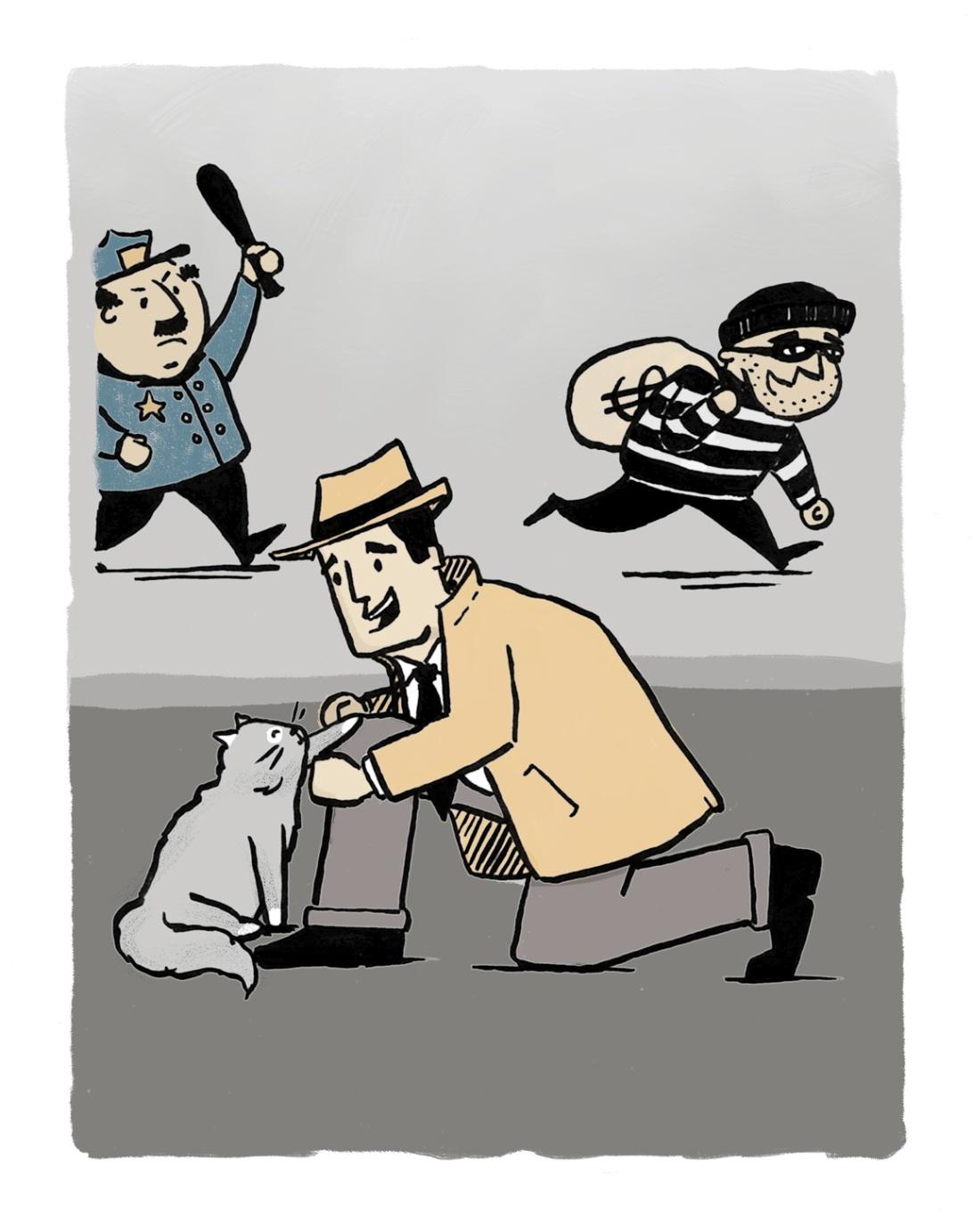 Erika Schnatz Cat Burglar