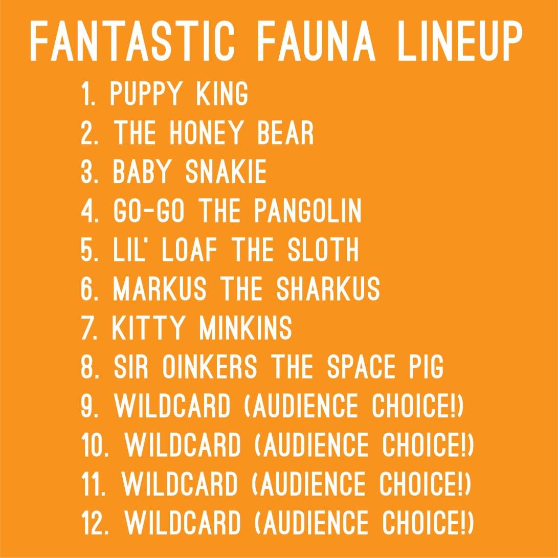 FaunaLineup