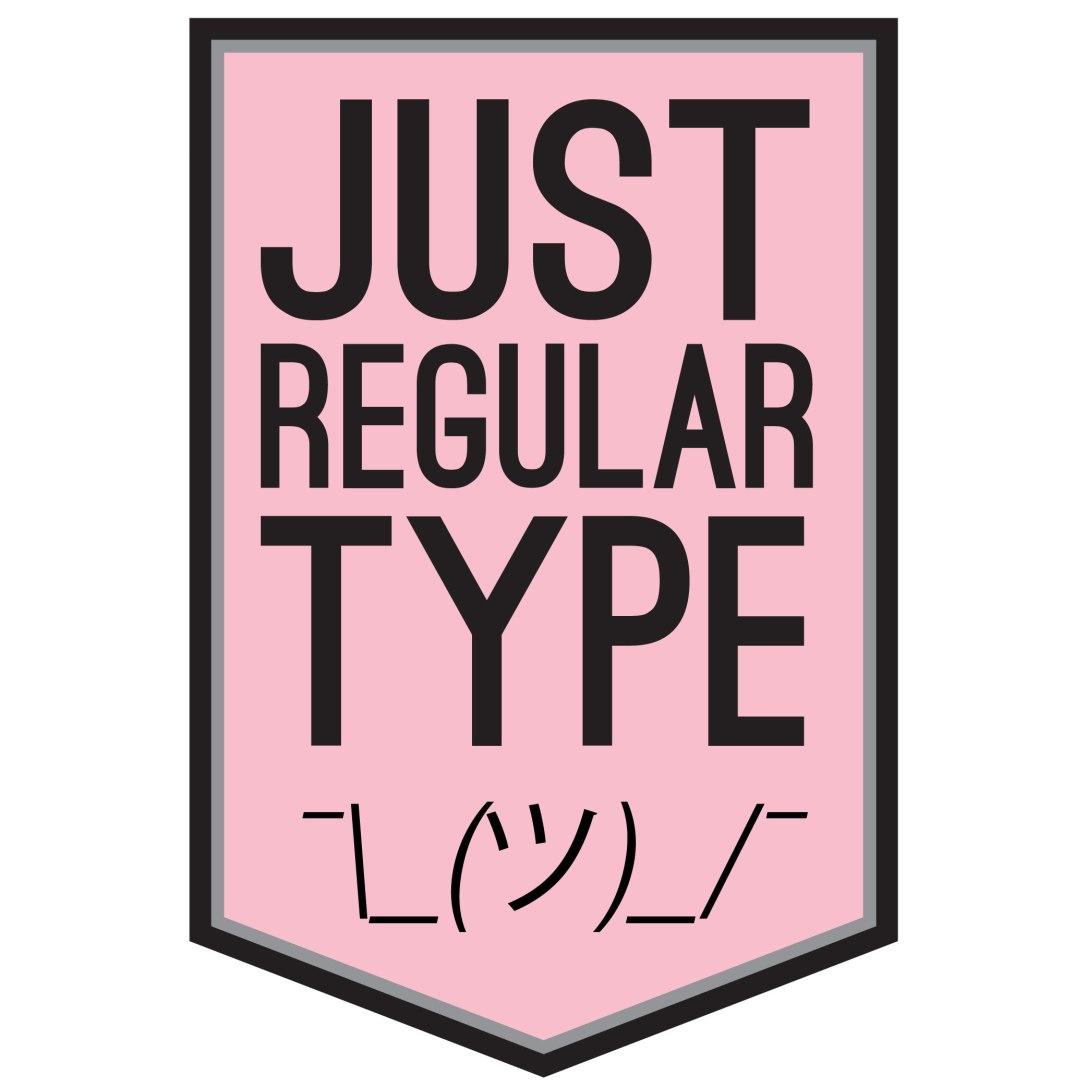 JustRegularTypeLogo