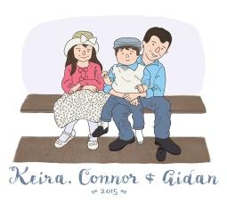 Erika Schnatz - Keira, Connor + Aidan (2015)