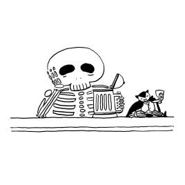 Erika Schnatz - Inktober 07: Skeleton (2018)