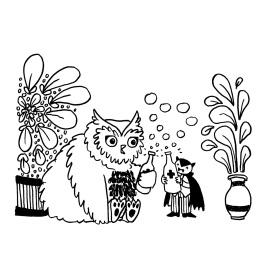Erika Schnatz - Inktober 18: Owlbear (2018)