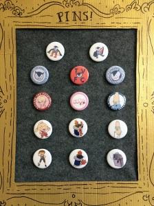 Erika Schnatz - Cute K.O. + Tiny Vampire Pins