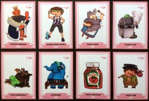 Erika Schnatz - Cute K.O. Trading Cards 2018 - Designs