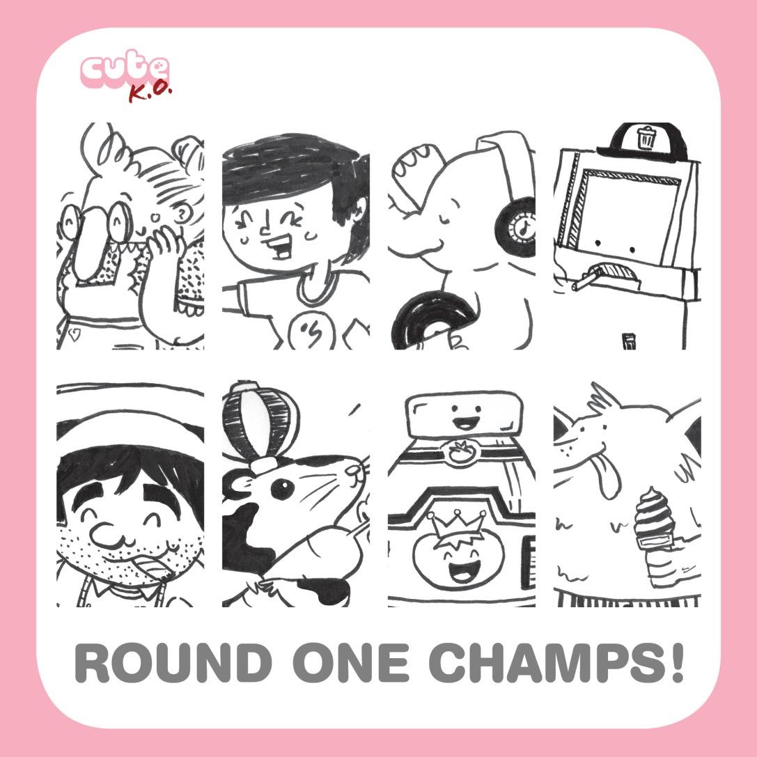 CuteKO2018-RoundOneChamps