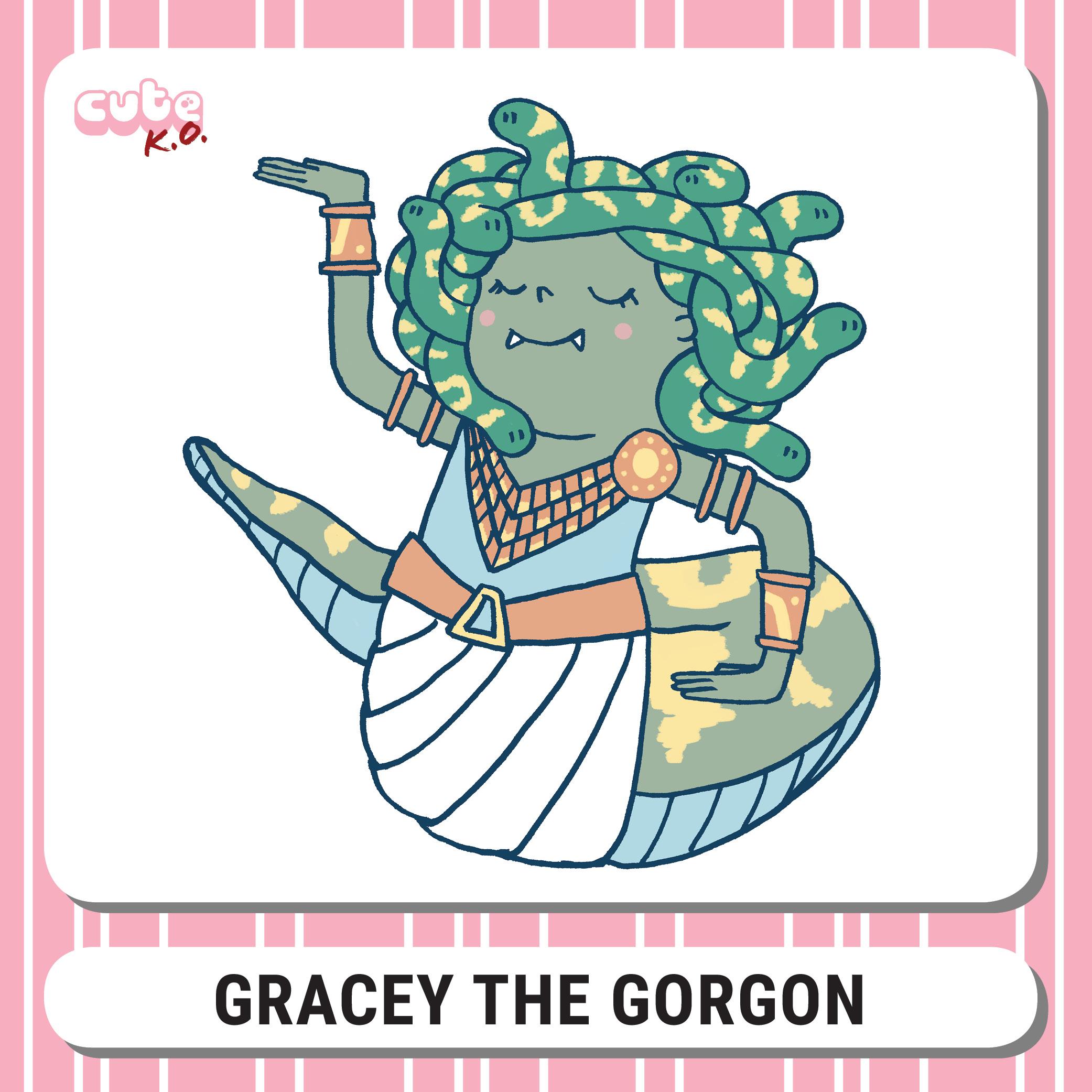 Cute K.O. 2019 Round Four: Gracey the Gorgon