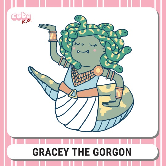Cute K.O. 2019 Round Four: Gracey the Gorgon