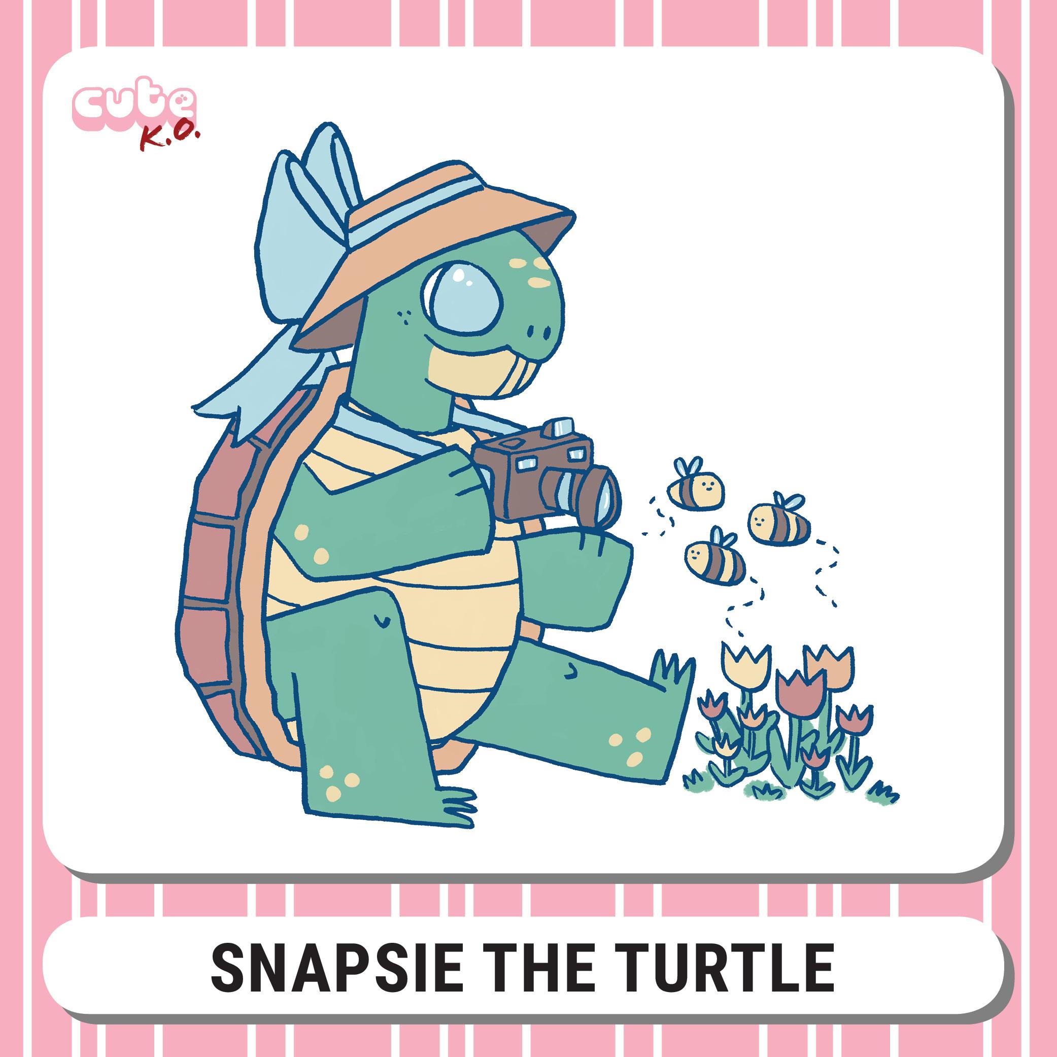 Cute K.O. 2019 Round Four: Snapsie the Turtle