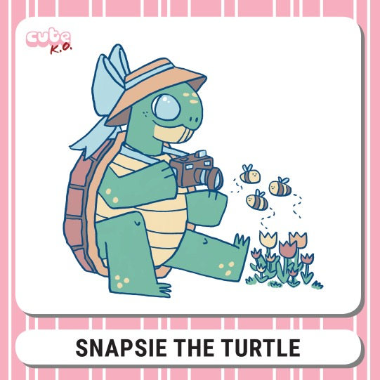 Cute K.O. 2019 Round Four: Snapsie the Turtle