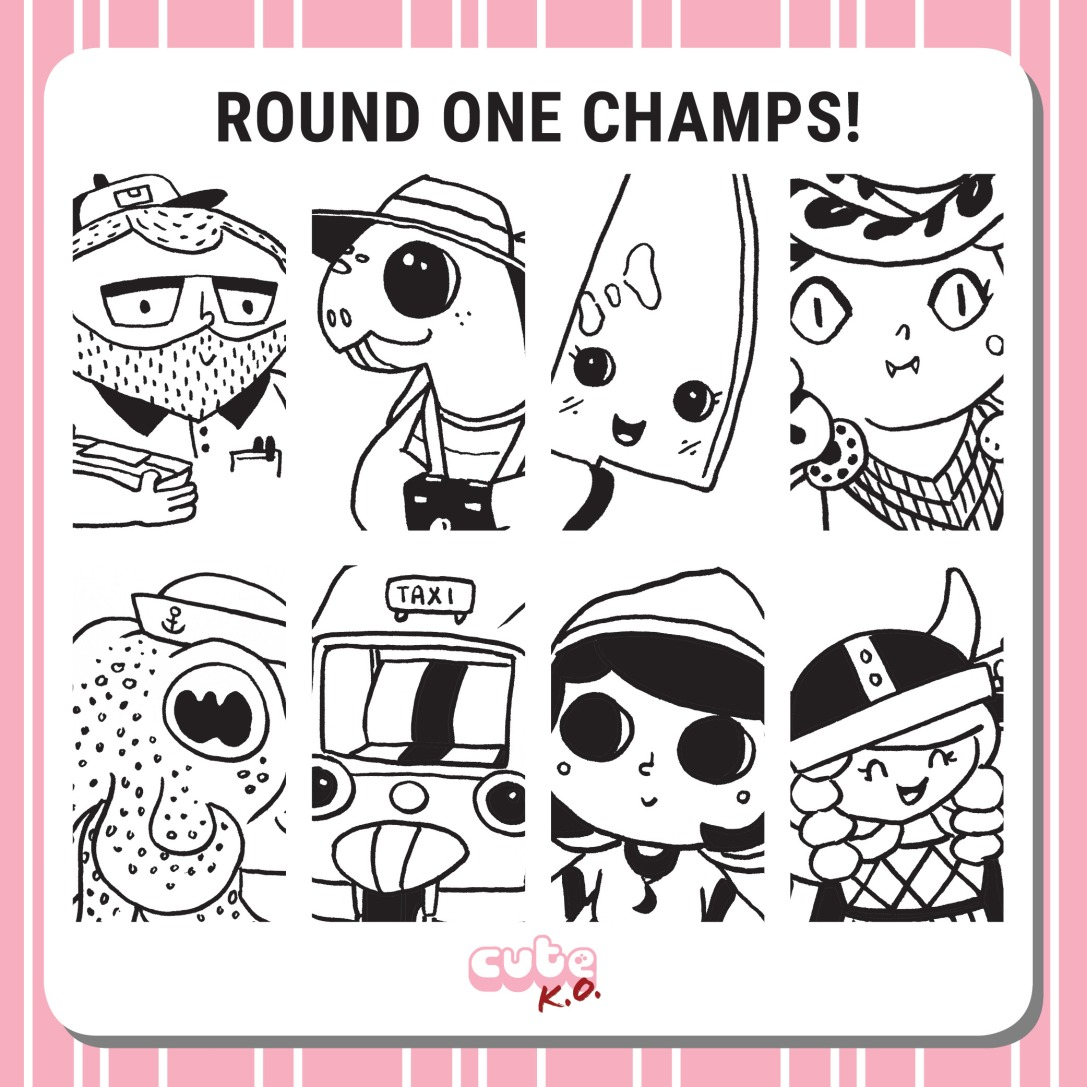 Cute K.O. 2019 Round One: Champions