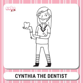 Cute K.O. 2019 Round One: Cynthia the Dentist
