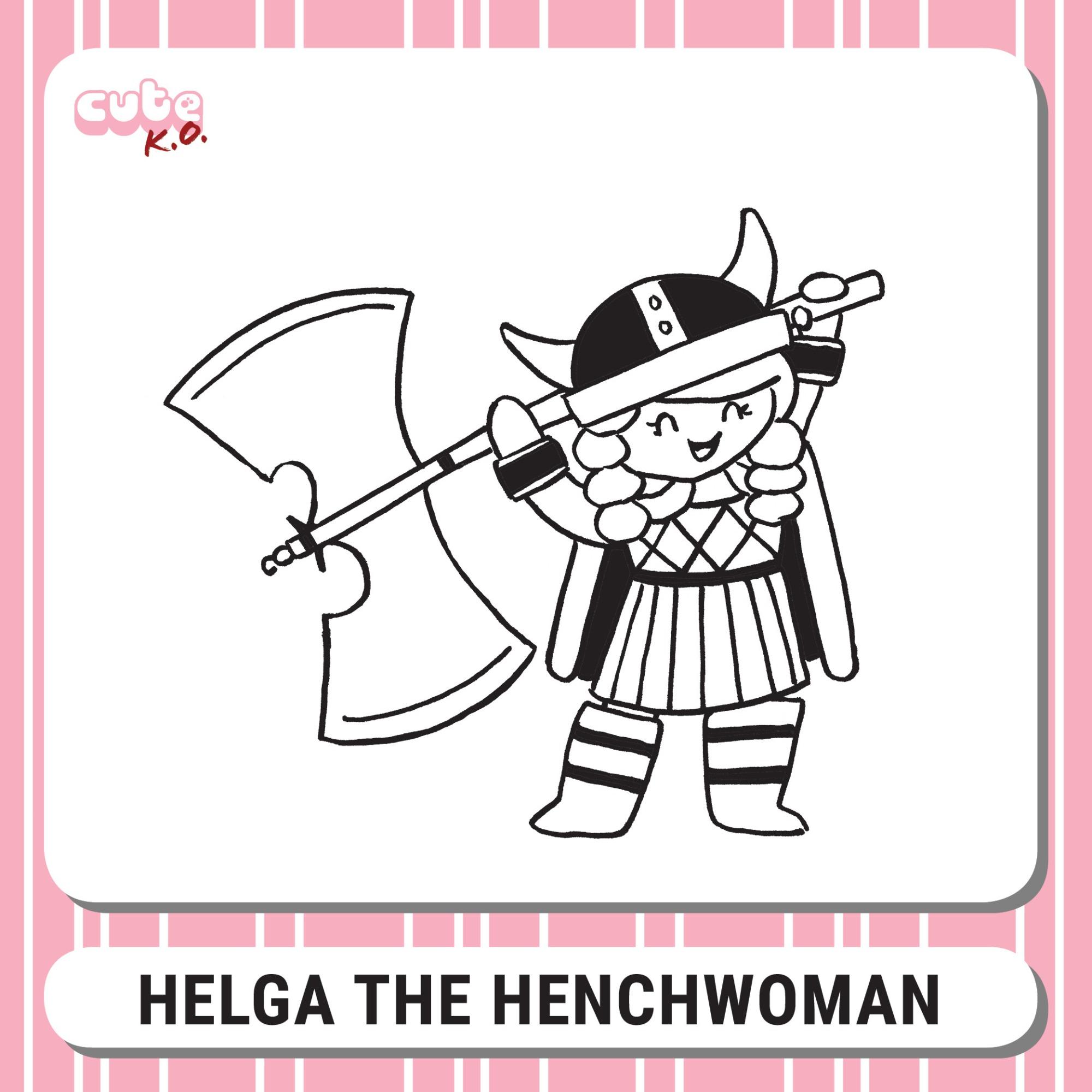 Cute K.O. 2019 Round One: Helga the Henchwoman