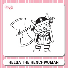 Cute K.O. 2019 Round One: Helga the Henchwoman