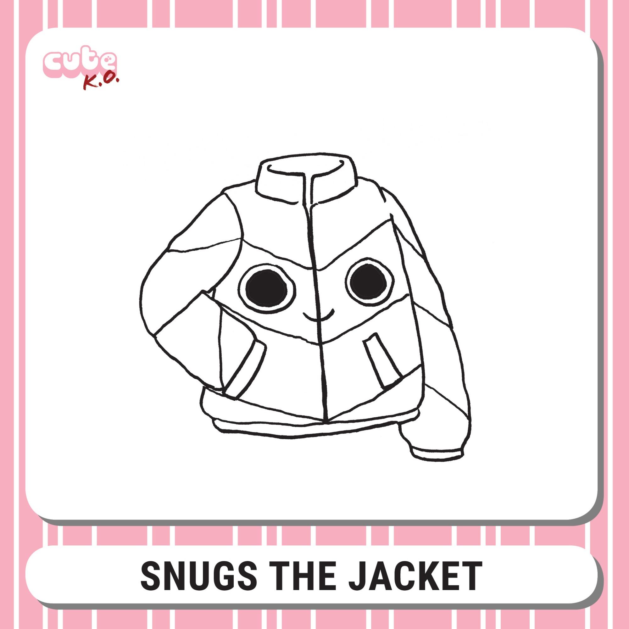 Cute K.O. 2019 Round One: Snugs the Jacket