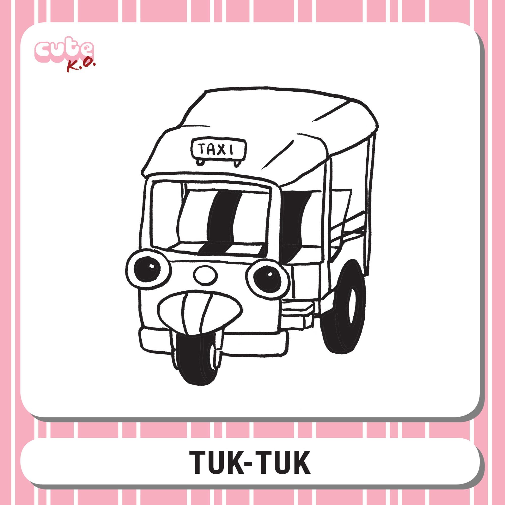 Cute K.O. 2019 Round One: Tuk-Tuk