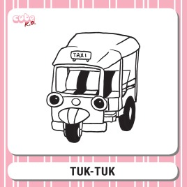 Cute K.O. 2019 Round One: Tuk-Tuk