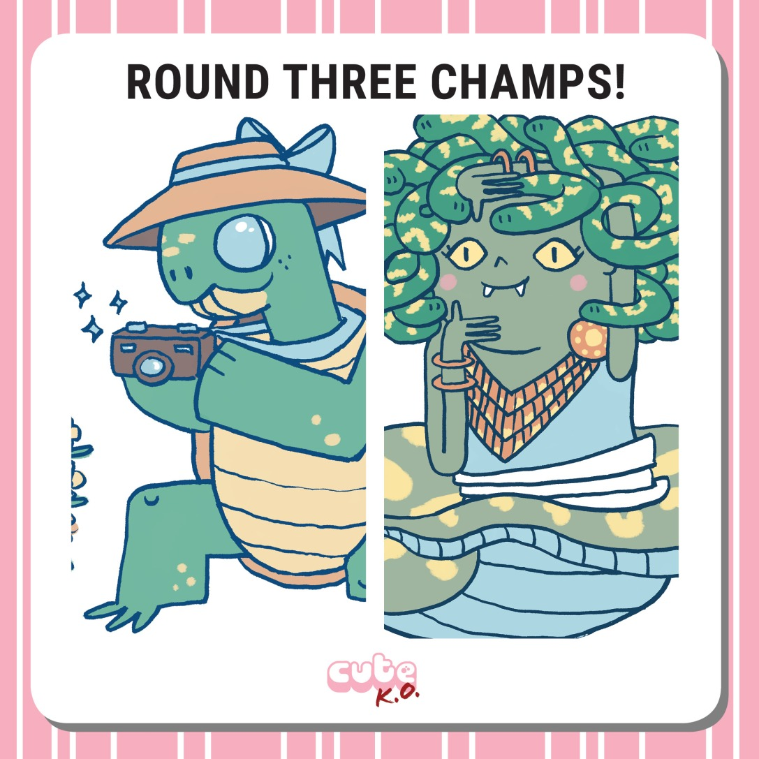 Cute K.O. 2019 Round Three: Champions