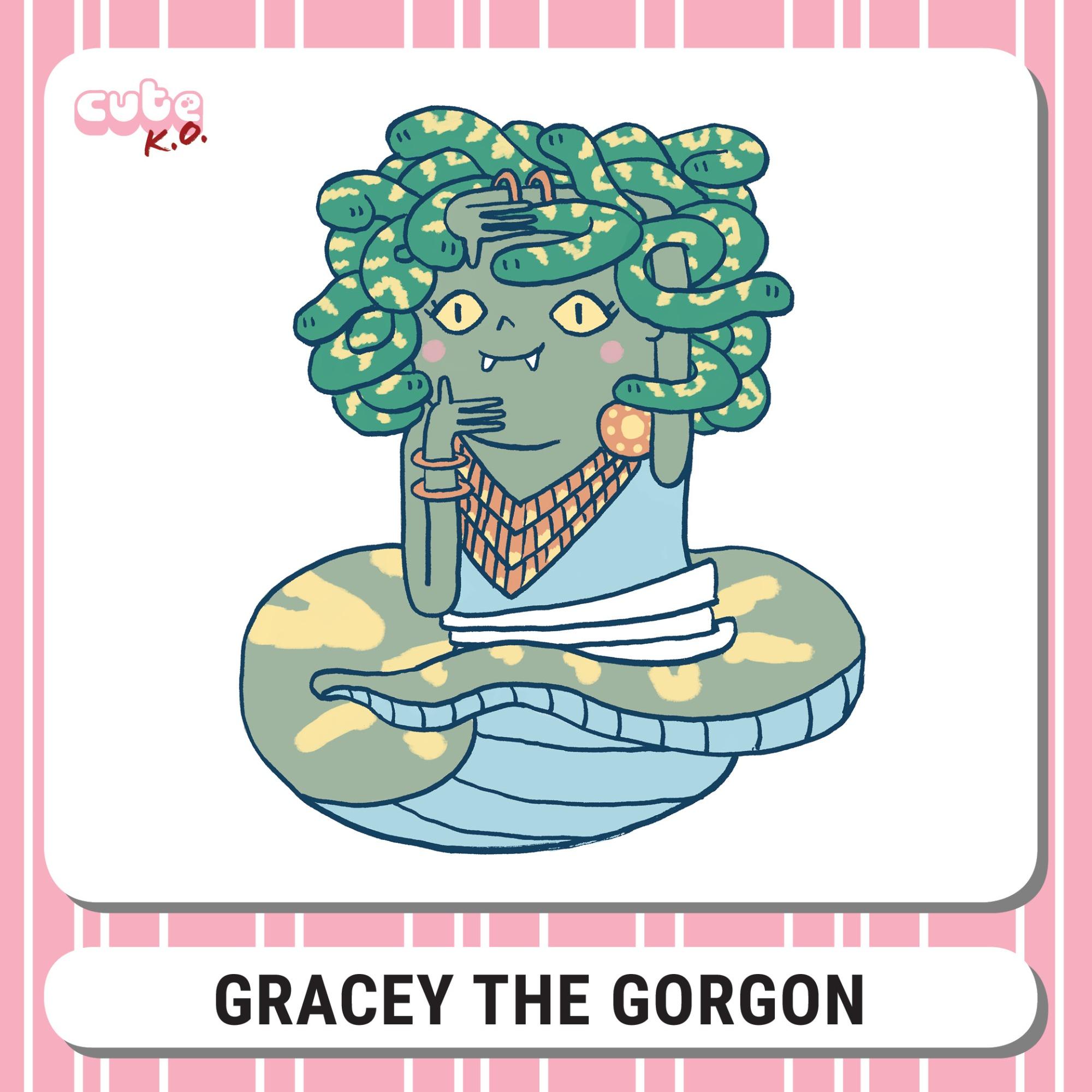 Cute K.O. 2019 Round Three: Gracey the Gorgon