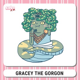 Cute K.O. 2019 Round Three: Gracey the Gorgon