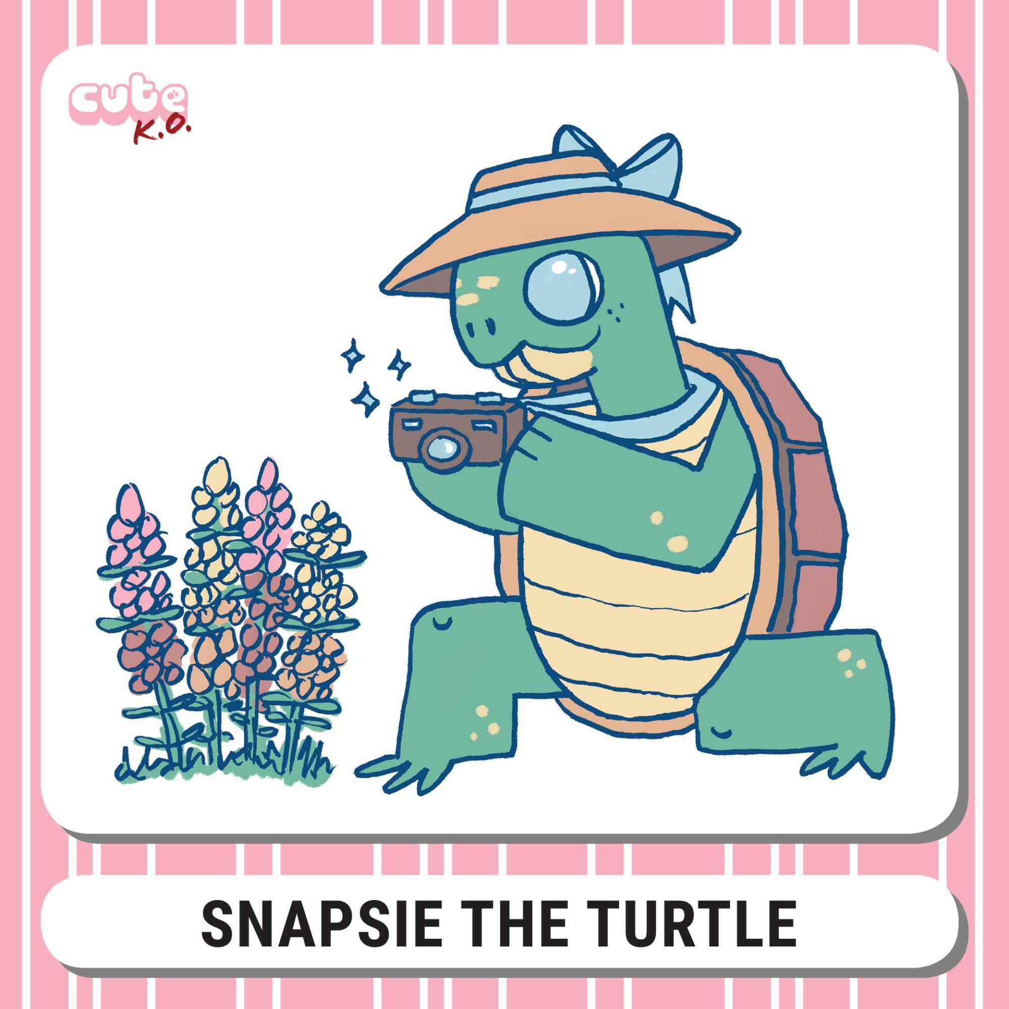 Cute K.O. 2019 Round Three: Snapsie the Turtle