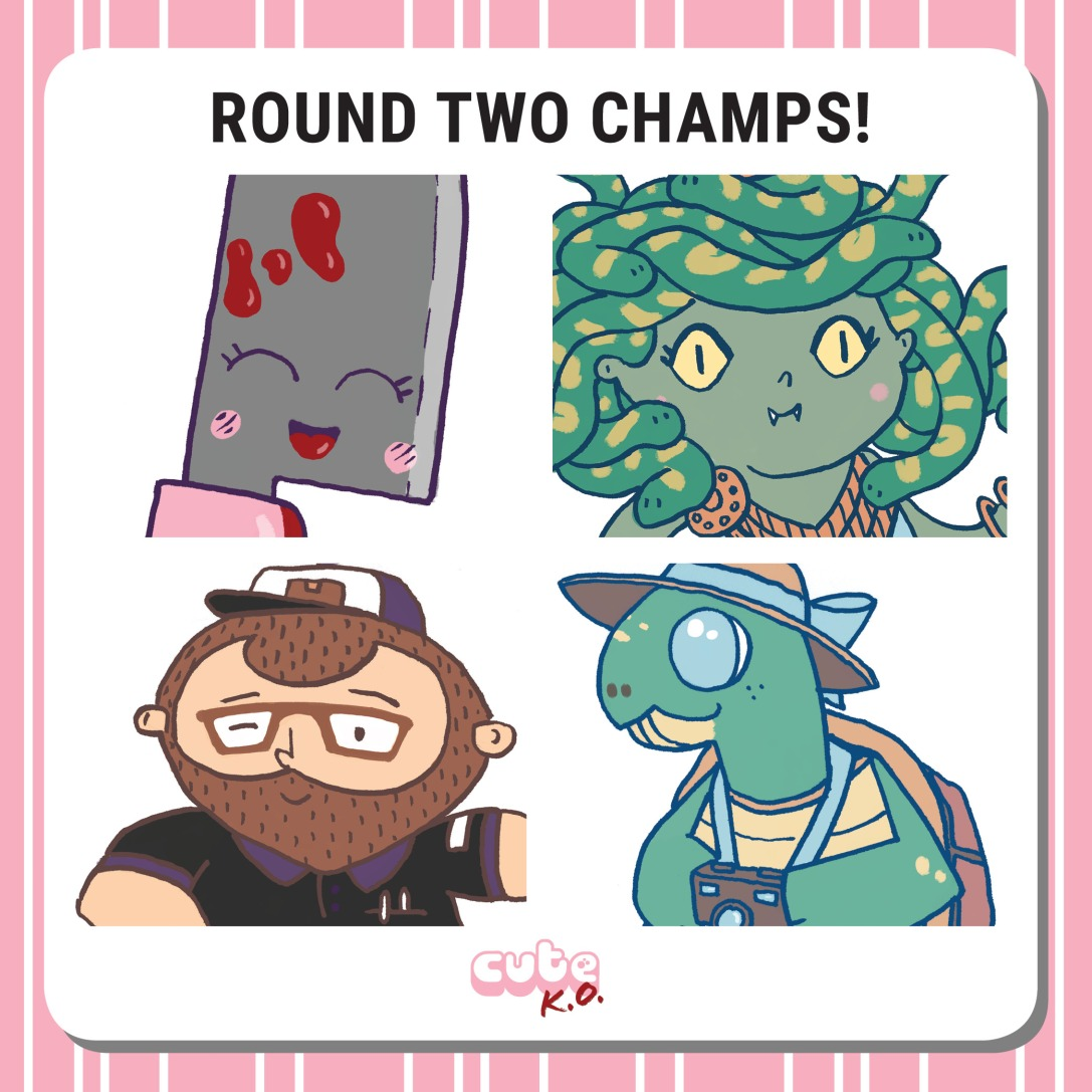 Cute K.O. 2019 Round Two: Champions